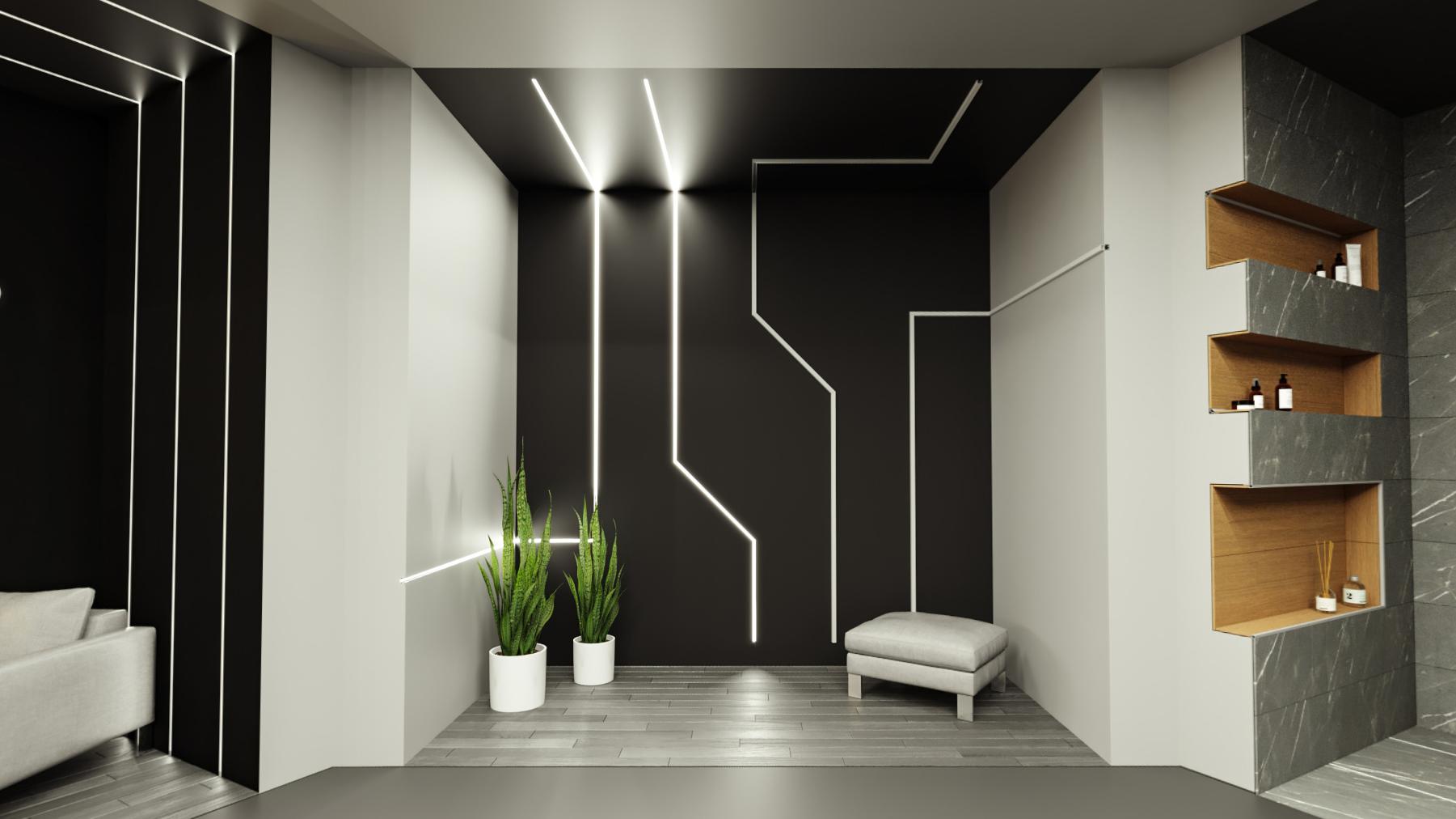 Virtualni razstavni prostor profilov za LED trakove